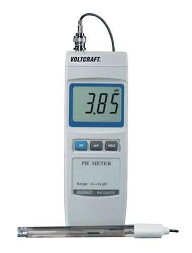 Měřič kyselosti vody, pH metr PH-100 ATC
