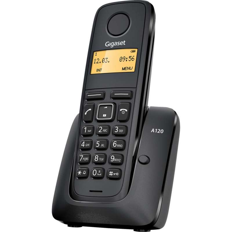 SIEMENS A120 DECT GIGASET přenosný bezdrátový telefon na pevnou linku